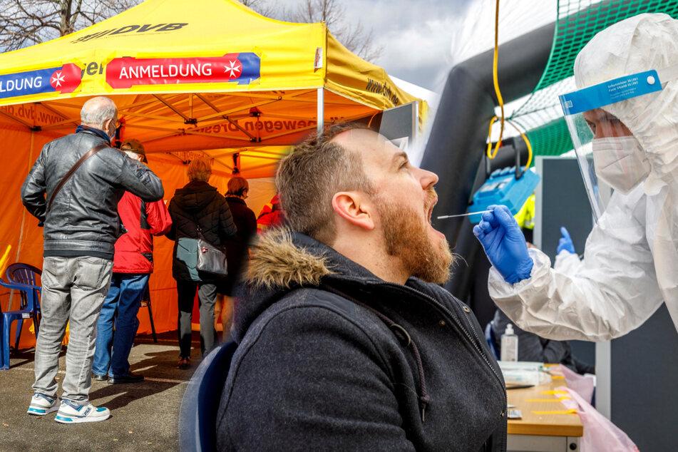 Gratis-Corona-Test mit 331 Freiwilligen: Mund auf für ein bisschen Sicherheit