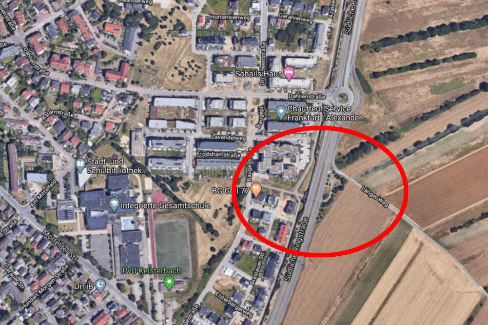 Der Unfall passierte am Donnerstag gegen 17 Uhr an der Kreuzung Südliche Ringstraße/Langer Kornweg.