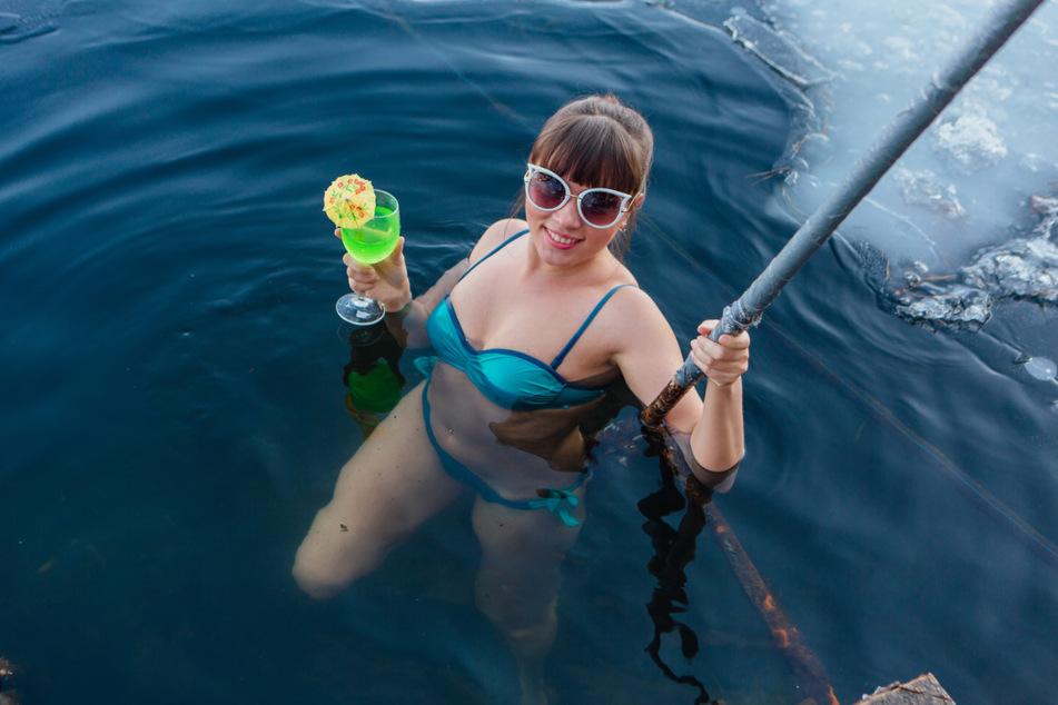 Normalerweise ist in den sibirischen Gewässern Eisbaden angesagt. (Symbolbild)