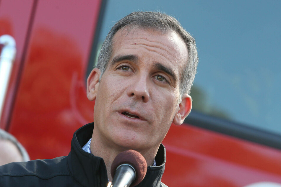 """LA Mayor Eric Garcetti has been accused of """"failure to act"""" after witnessing repeated instances of sexual harassment against his body guard."""