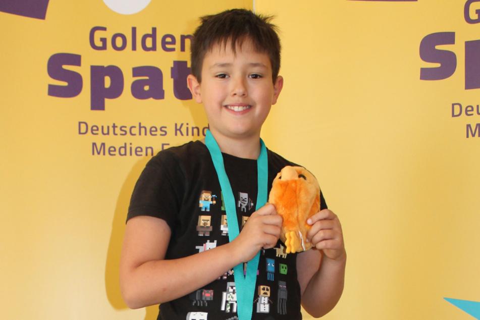 """Jannik Pechotsch (10) hat es als einziger Sachse in die Kinderjury geschafft und sagt: """"Du darfst nicht schüchtern sein und musst andere Meinungen auch okay finden."""""""