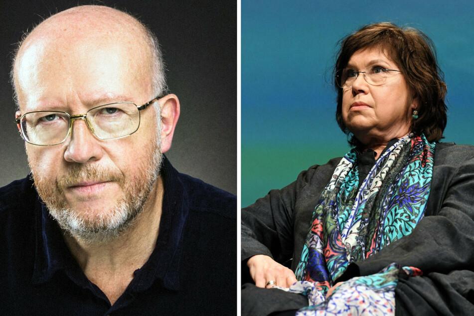 Die Historiker Jan Grabowski (59, l) und Barbara Engelking (58) wurden von einem polnischen Gericht verurteilt.