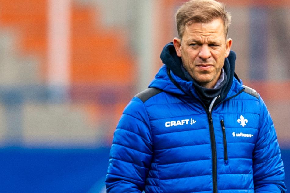 Das Foto vom 2. Januar zeigt Markus Anfang (46), den Chef-Trainer des SV Darmstadt 98.