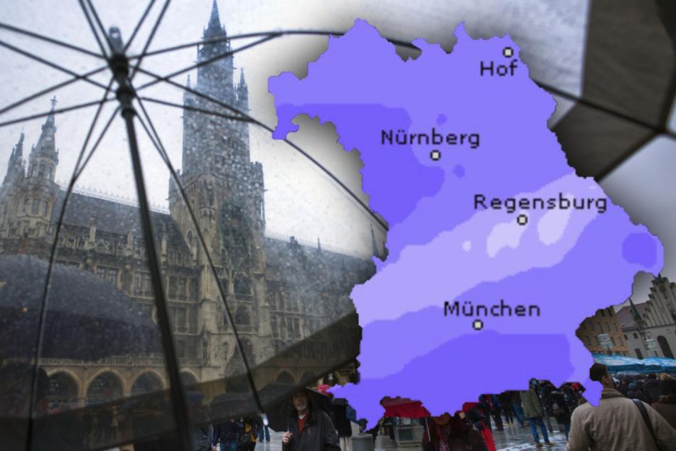 Regenschirm nötig? So wird in Bayern das Wetter am Wochenende