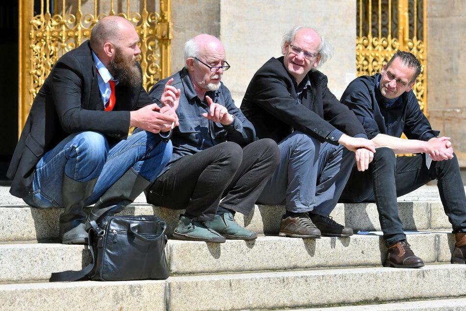 Dresden: Dissidenten fordern große Freiheit für Wirte und Händler