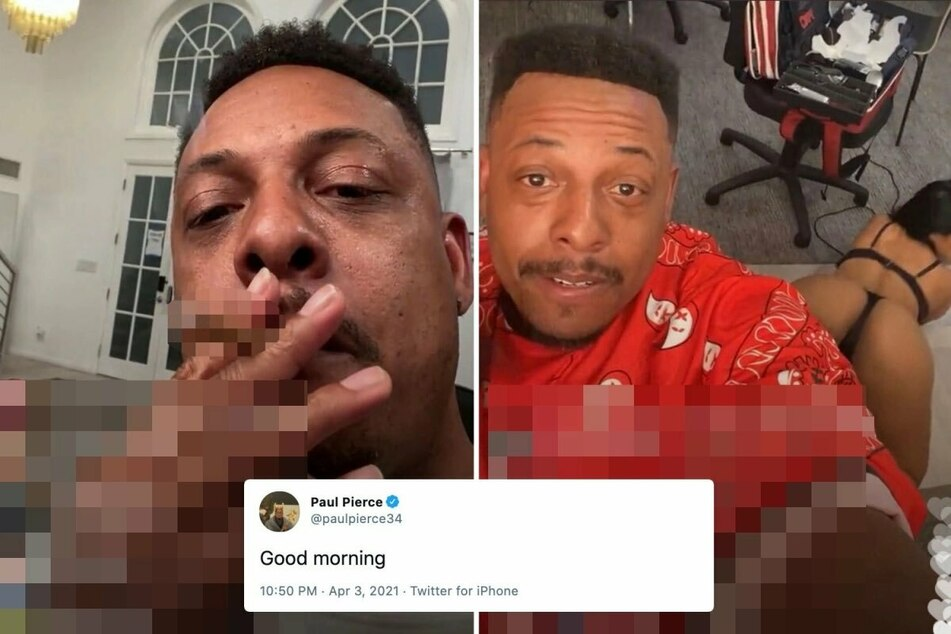 Former NBA superstar Paul Pierce lost his job for having a bit of NSFW-type fun.