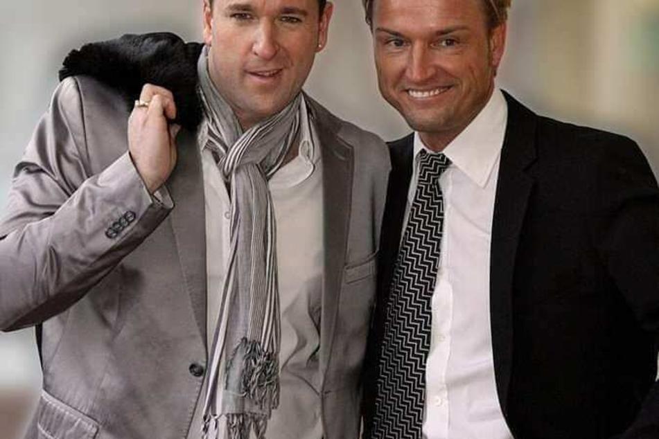 Michael Wendler (l., 48) und Markus Krampe (48) verbindet nicht nur eine jahrelange Geschäftsbeziehung, sondern auch eine Freundschaft.