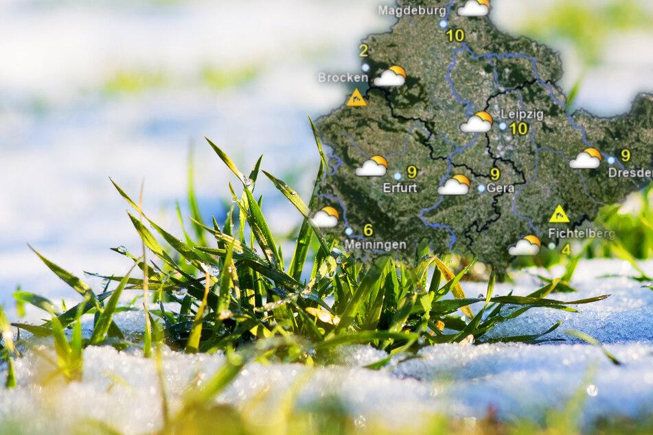 Ein Hauch von Frühling? So wird das Wetter in Mitteldeutschland