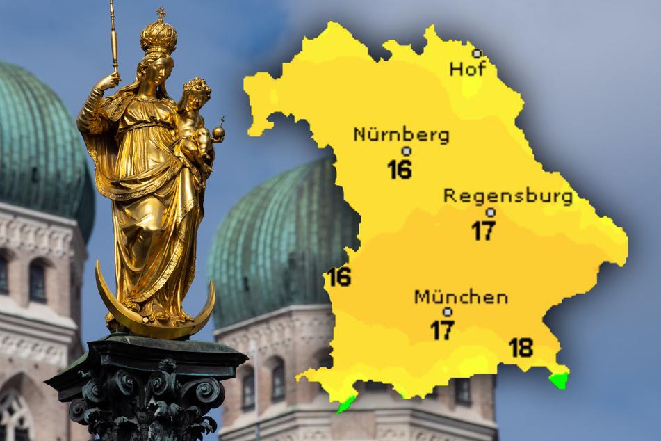 Wochenende im Blick: So wird das Wetter in Bayern