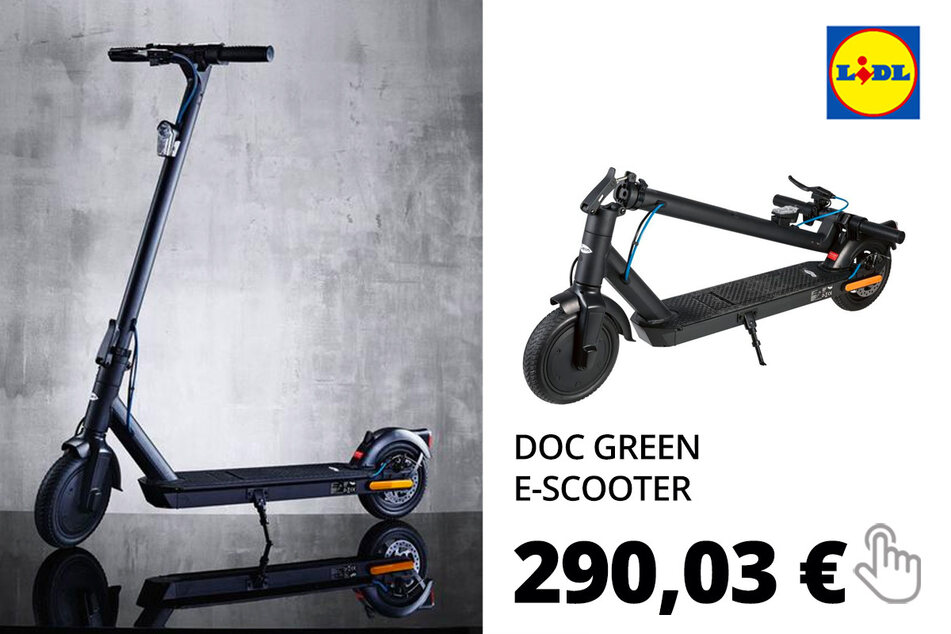 "Doc Green E-Scooter ""EWA 6000 EKFV"""