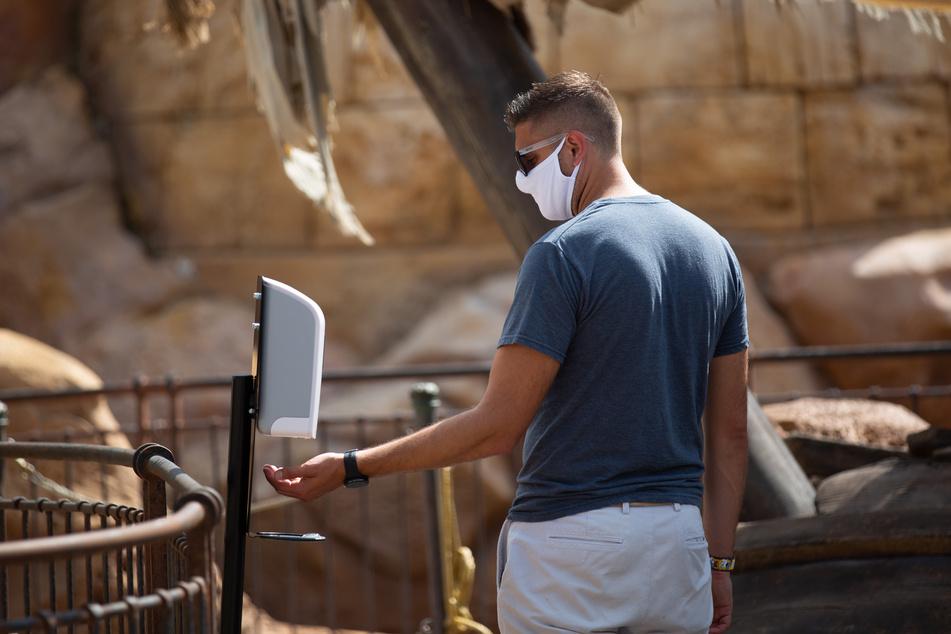 Die von der Großstadt Atlanta verordnete Maskenpflicht soll wieder gekippt werden.