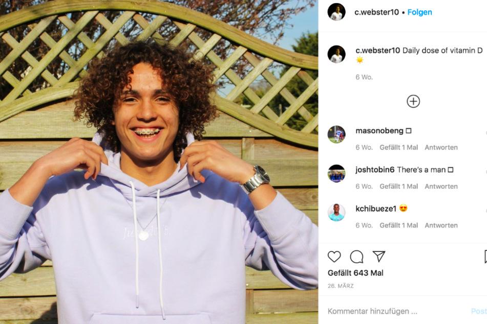 Charlie Webster (16) gilt als eines der größten Talente in der Chelsea-Nachwuchsakademie.