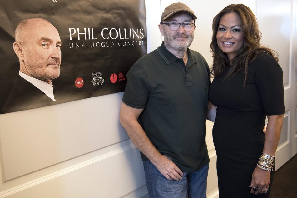 Phil Collins (69) und Orianne Cevey (46). Die Beziehung der beiden ist nun ein zweites Mal am Ende.
