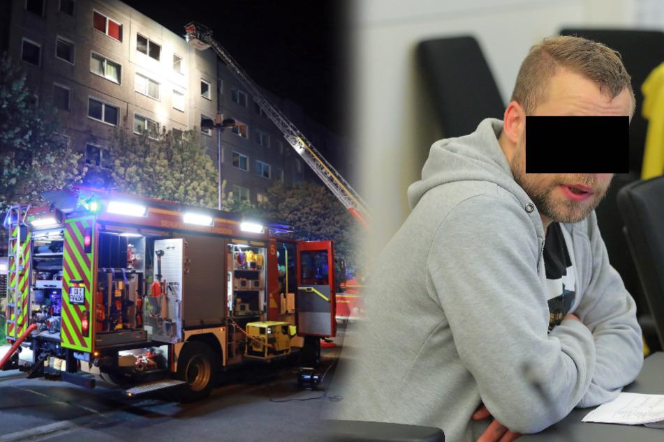 Er hatte Stimmen gehört: Lyriker zündete Wohnung an und tanzte ums Feuer
