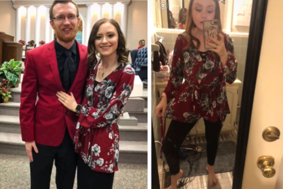 Fashion fail: woman wears romper as a shirt for four years!