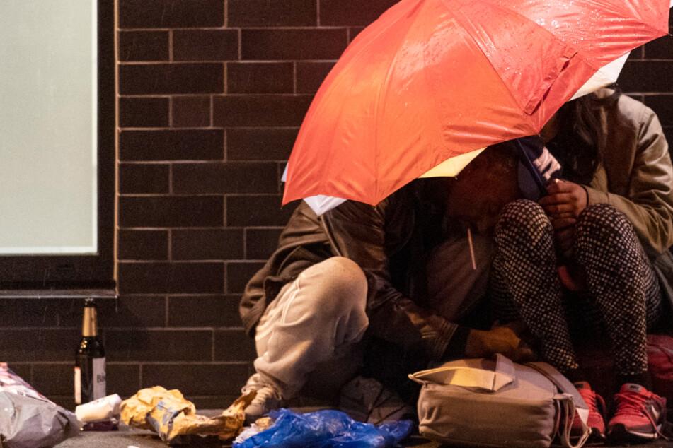 Obdachlose Drogenabhängige in Frankfurt: Notfallplan für Bahnhofsviertel