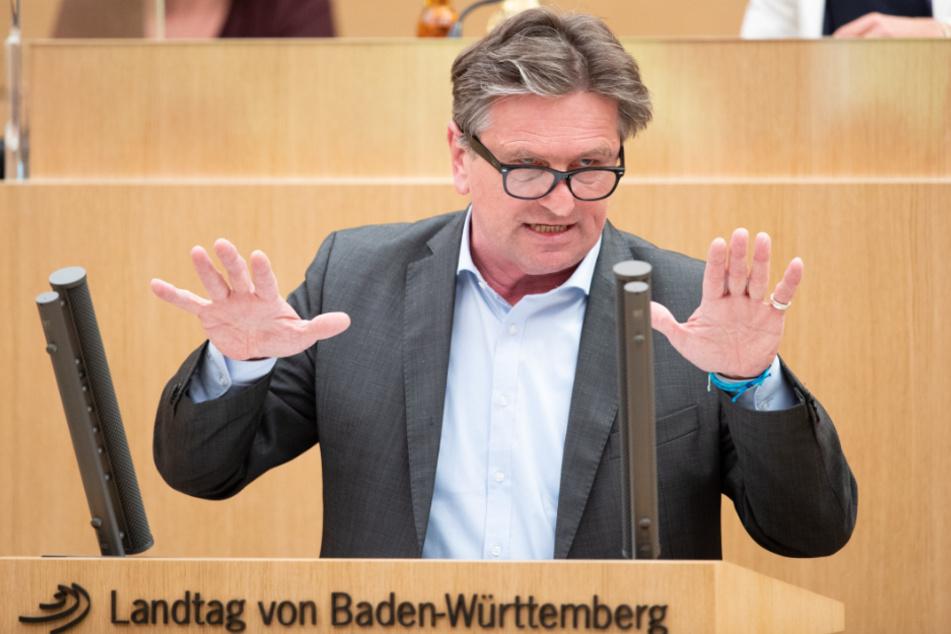 Baden-Württembergs Sozialminister Manne Lucha (59, Grüne).