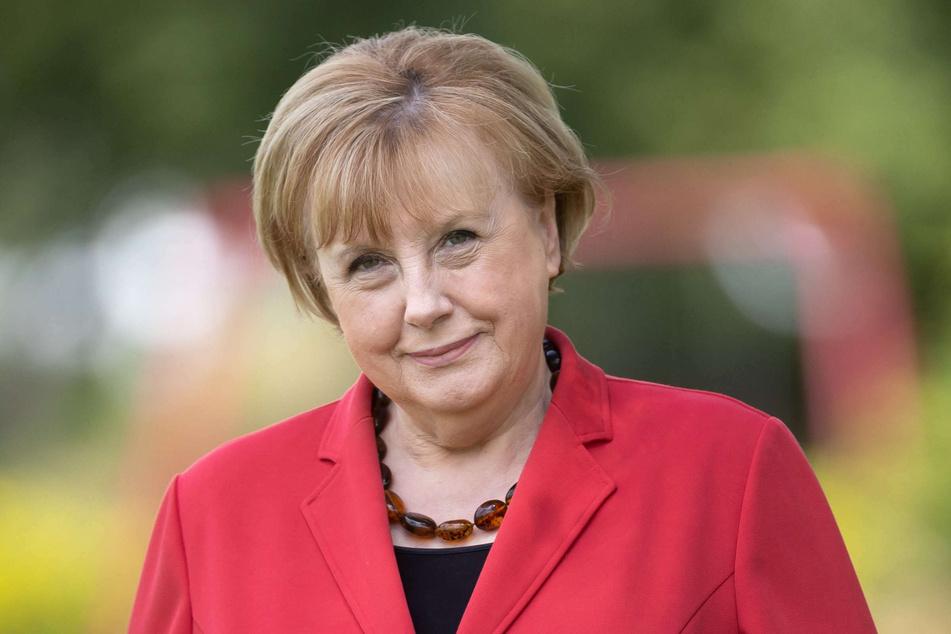Ursula Wanecki (65) trat jahrelang als Double von Kanzlerin Angela Merkel (67) auf.