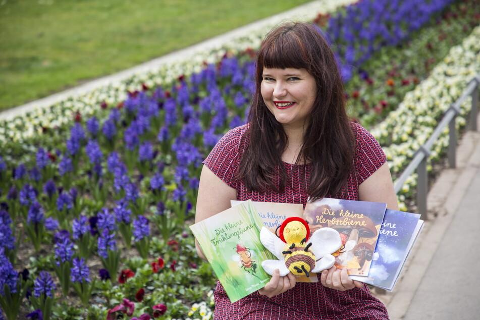 Dresden: Neustadt-Musikerin schreibt Kinderbücher über Bienen