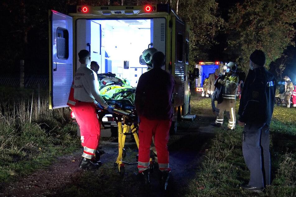 Die verletzten Personen wurden in ein Krankenhaus gebracht.