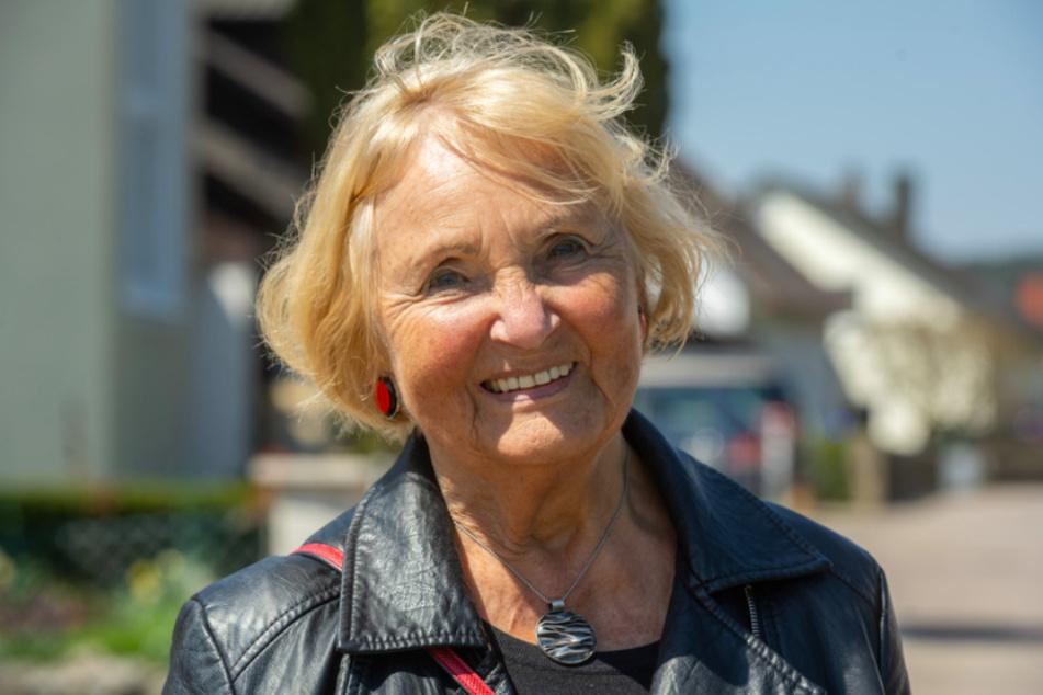 Karin Meixner-Nentwig (82) macht sich für eine saubere Stadt und für sauberes Grundwasser stark.