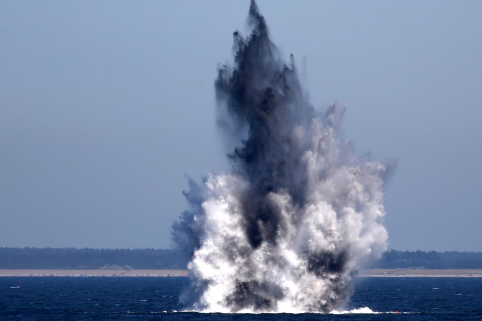 """""""Erhebliche Gefahr"""": Tonnen an Munition rosten am Ostseegrund"""