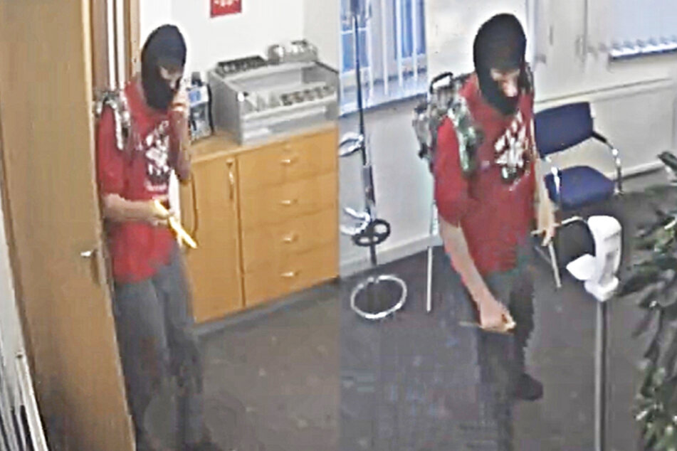 Bewaffneter Banküberfall: Wer kennt diesen Mann? Belohnung wurde ausgesetzt