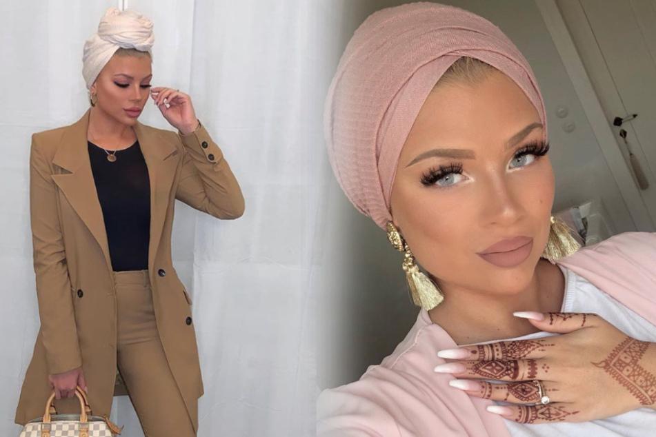 Die 23-Jährige zeigt sich auf ihrem Instagram-Account gerne mit Turban.