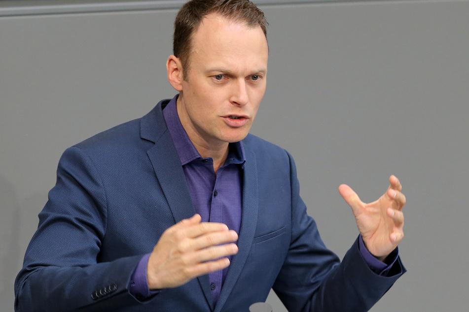Kai Gehring (Bündnis90/Grüne) spricht im Deutschen Bundestag.