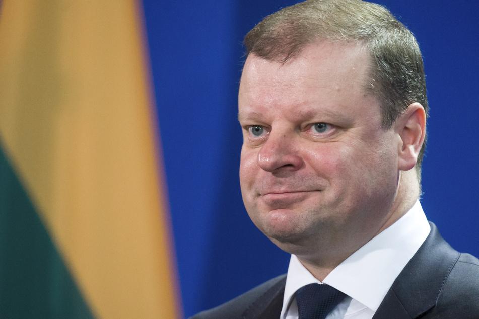 Litauens Ministerpräsident Saulius Skvernelis (49). (Archivbild)