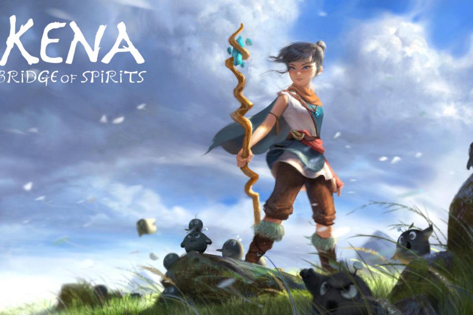 Die titelgebende Heldin Kena ist auf dem Weg zu einem heiligen Bergschrein. Warum und wieso, erfährt man erst gegen Ende des Spiels.