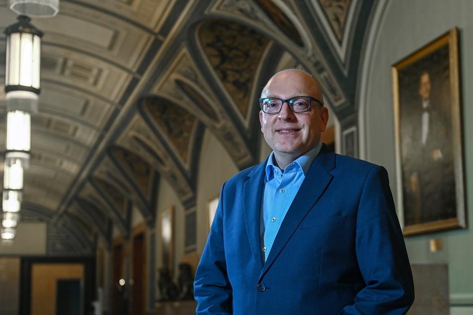 Versammelt wirtschaftlichen Sachverstand: Oberbürgermeister Sven Schulze (49, SPD).