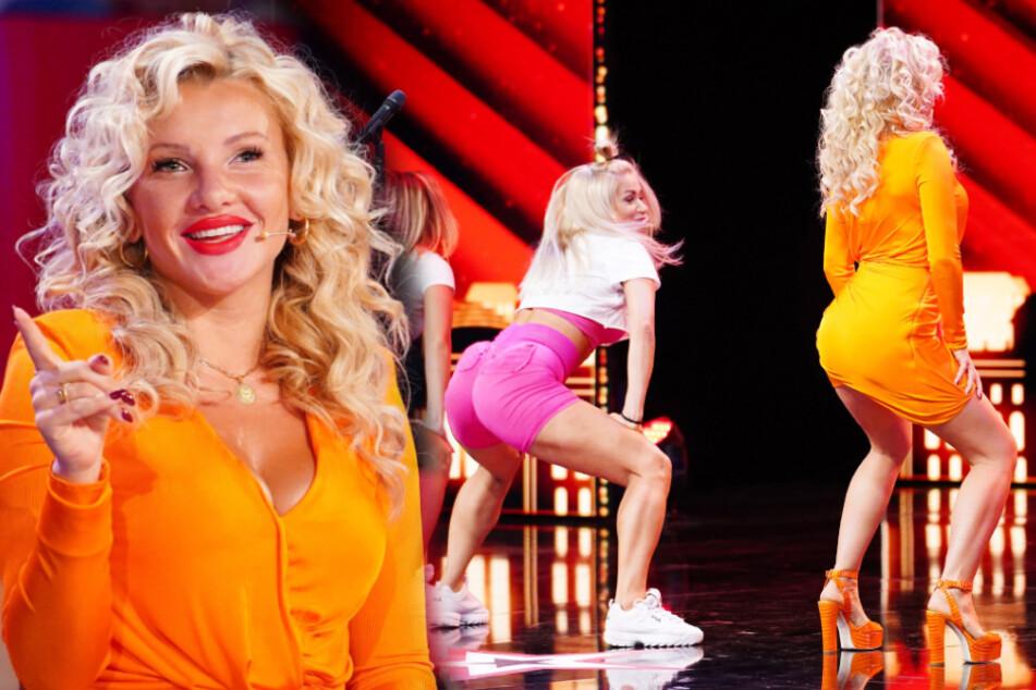 Das Supertalent: Plötzlich twerkt Evelyn Burdecki auf der Bühne