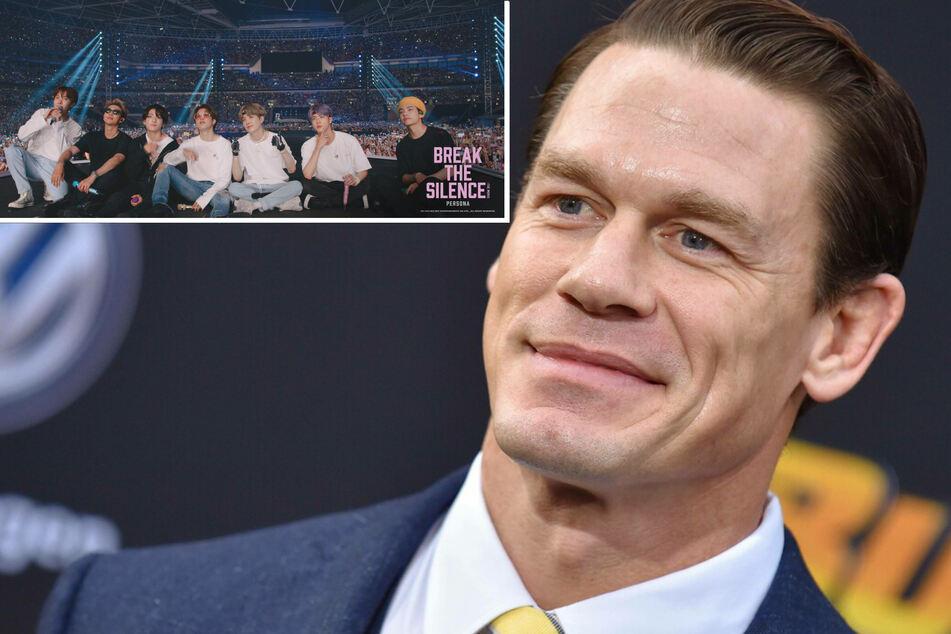 John Cena's new self-help books were inspired by an unlikely connection to BTS!