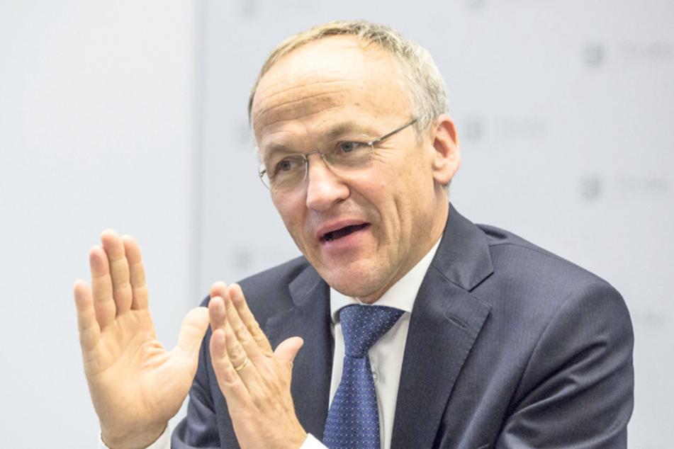 Finanzbürgermeister Peter Lames (55, SPD).