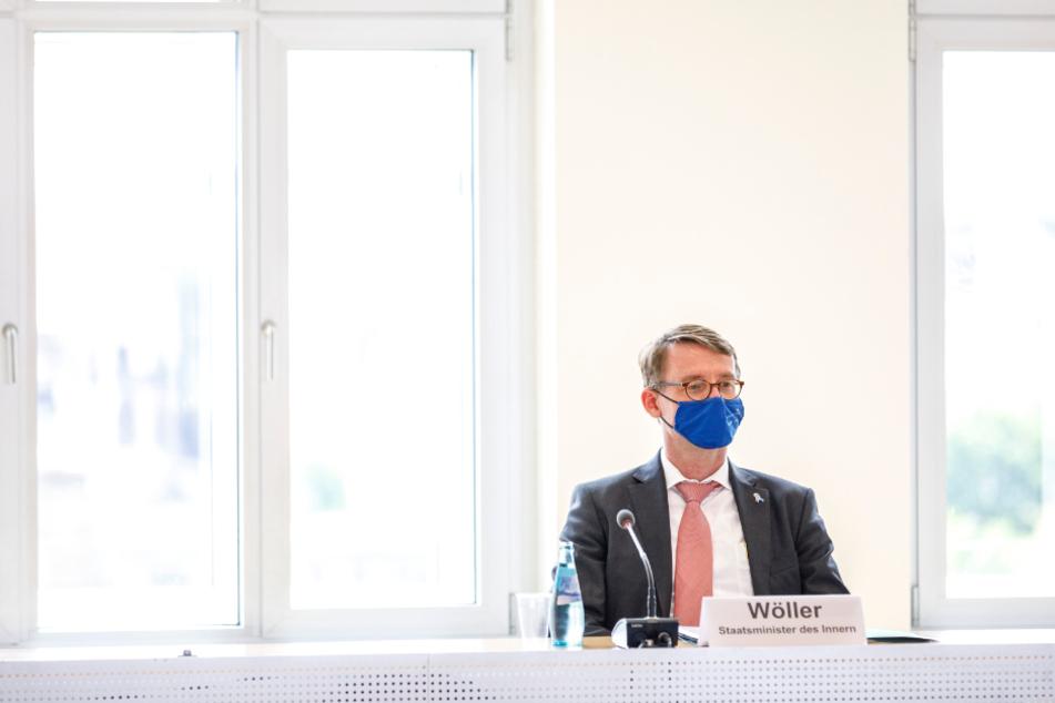 """Laut Sachsens Innenminister Roland Wöller (50, CDU) gab es hinsichtlich des """"Fahrradgates"""" keine strukturelle Korruption. (Archivbild)"""