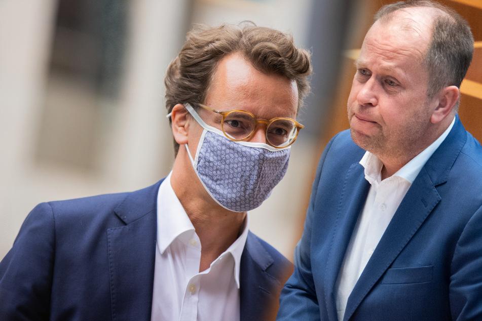 """CDU-Krise: Joachim Stamp von der FDP bezeichnet Masken-Deals als """"widerlich"""""""