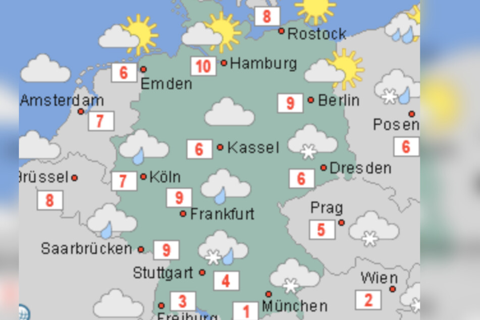 Wetter In Nürnberg Nächste Woche