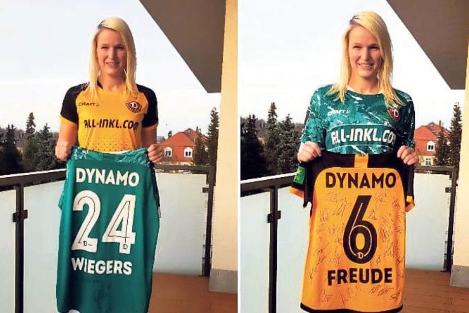 Dresden: Nach Auftritt im ZDF-Sportstudio: Kathleen wird von Dynamo ordentlich beschenkt