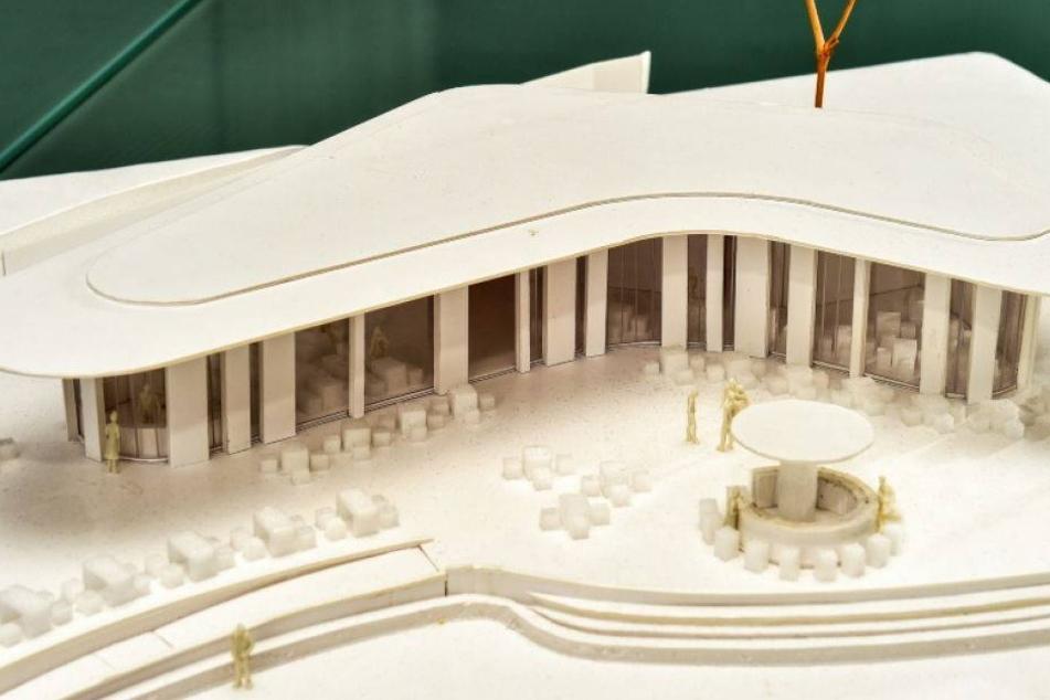 So soll der neue Pavillon im Dresdner Zoo aussehen