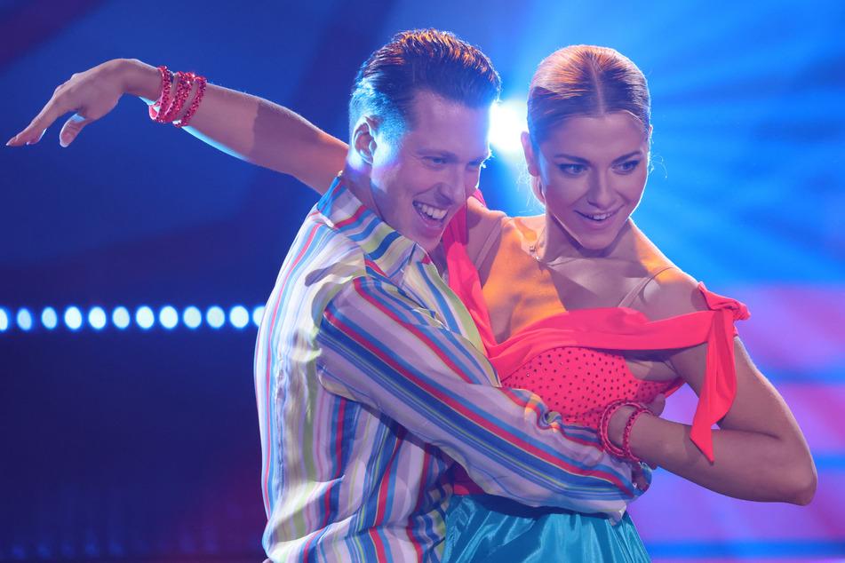 """Valentina Pahde (26) und Profi-Tänzer Valentin Lusin (34) in der sechsten Runde der RTL-Tanzshow """"Let's Dance"""" am vergangenen Freitag."""