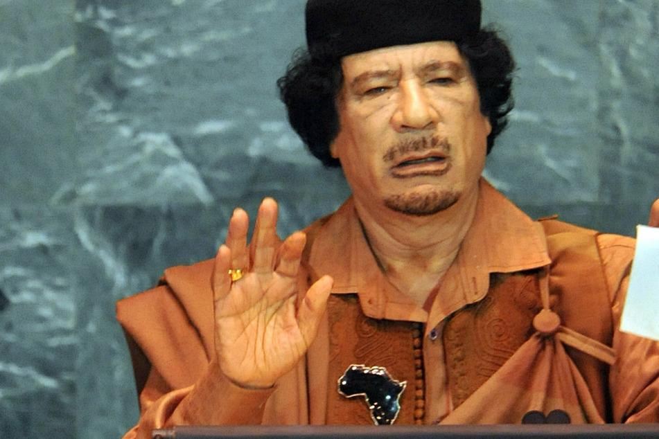 Libyens damaligen Machthaber Muammar al-Gaddafi starb 2011, doch der Berliner Regisseur wollte nach dem geplatzten Filmprojekt auf sein Geld nicht verzichten. (Archivbild)