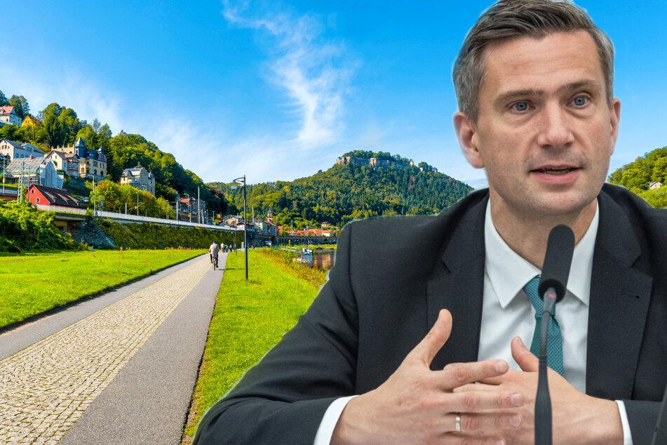 Weitere 950 Kilometer Radwegnetz: Sachsen baut Tausende Wegweiser