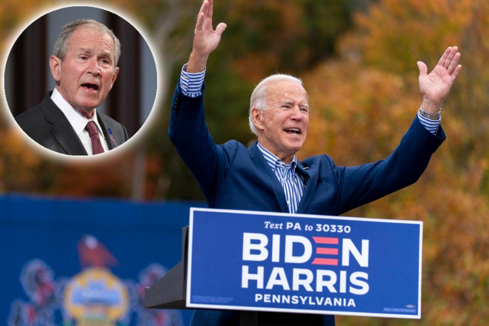 Interview-Patzer: Joe Biden verwechselt Trump mit Bush