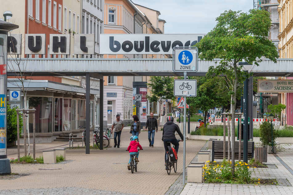 Die Route A verbindet den Brühl mit der Innenstadt.