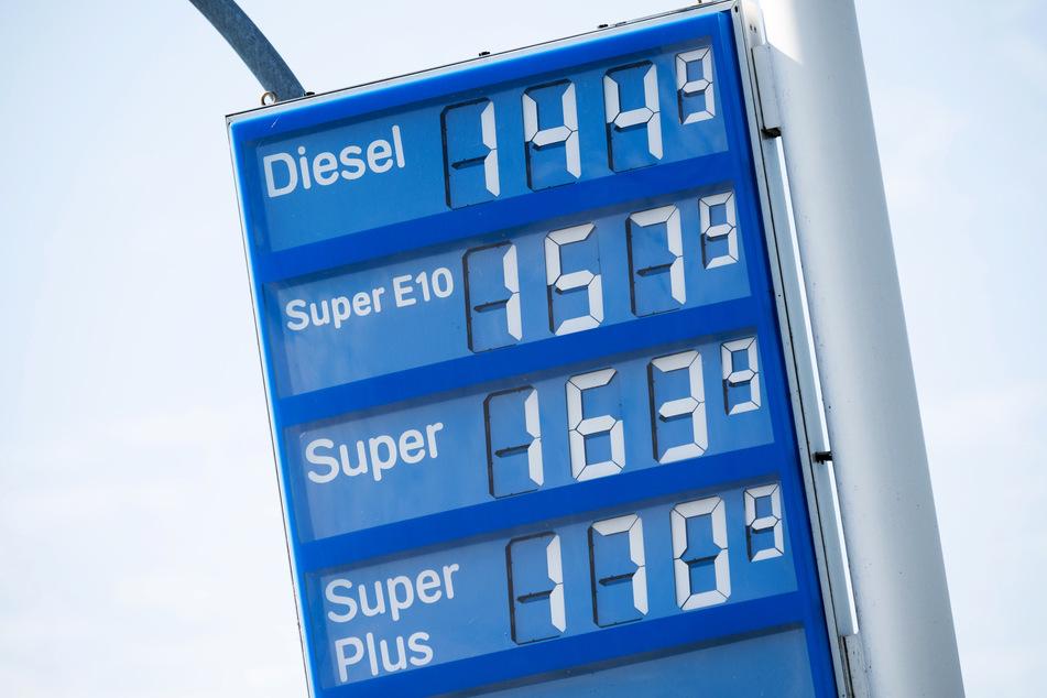 Die Verbraucherpreise in Sachsen-Anhalt sind im September deutlich gestiegen. Besonders Benzin und Diesel drücken aufs Portemonnaie. (Symbolbild)
