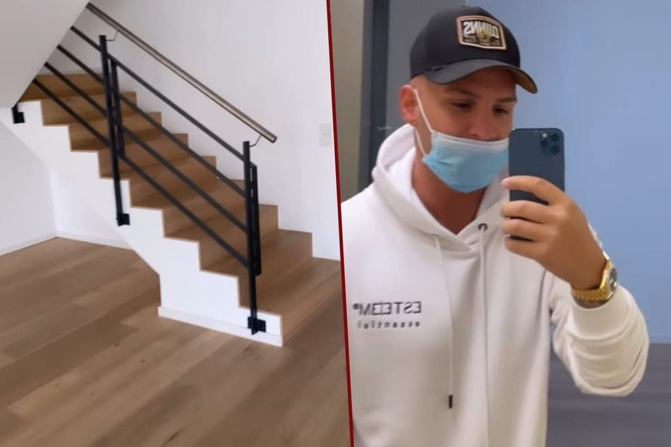 Pietro Lombardi gibt erste Einblicke in sein neues Luxus-Haus mit eigenem Aufzug