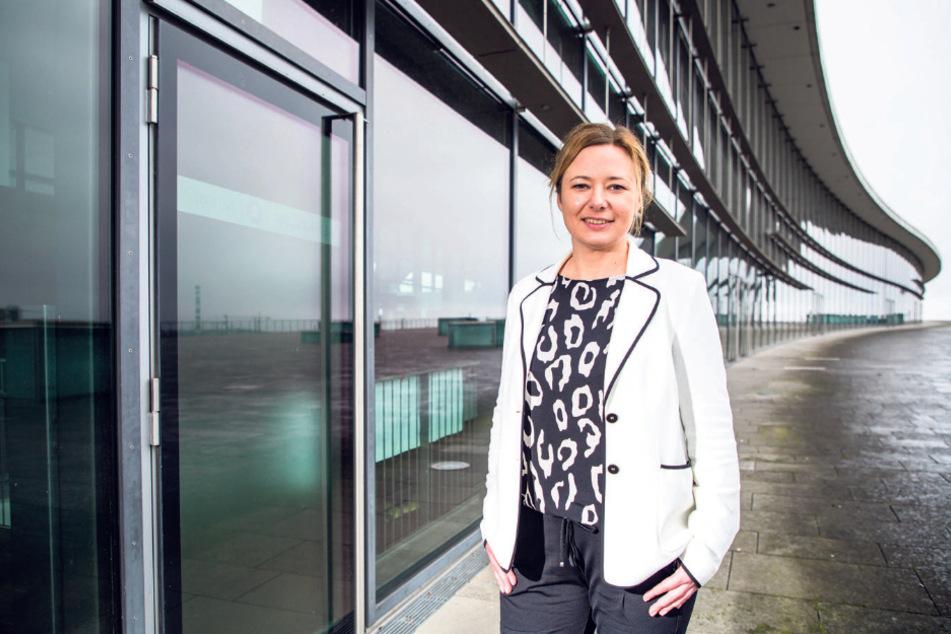 Dresdens Marketing-Chefin Corinne Miseer (44).