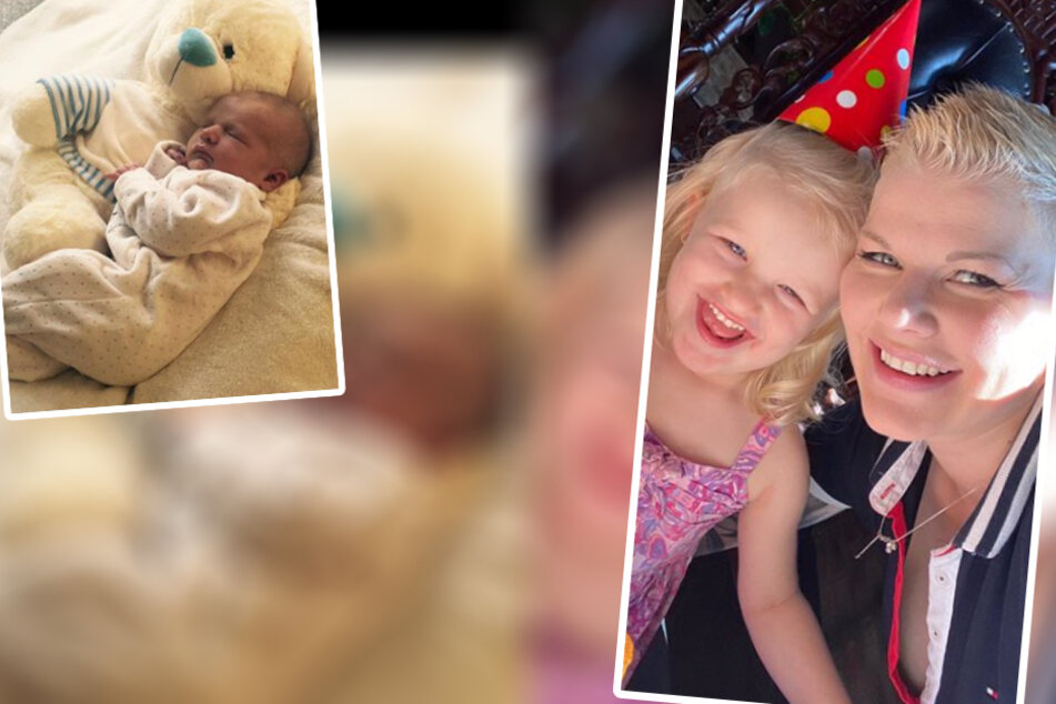 Damals noch so winzig, jetzt ein kleiner Engel: Melanie Müllers Töchterchen Mia Rose feiert Geburtstag.