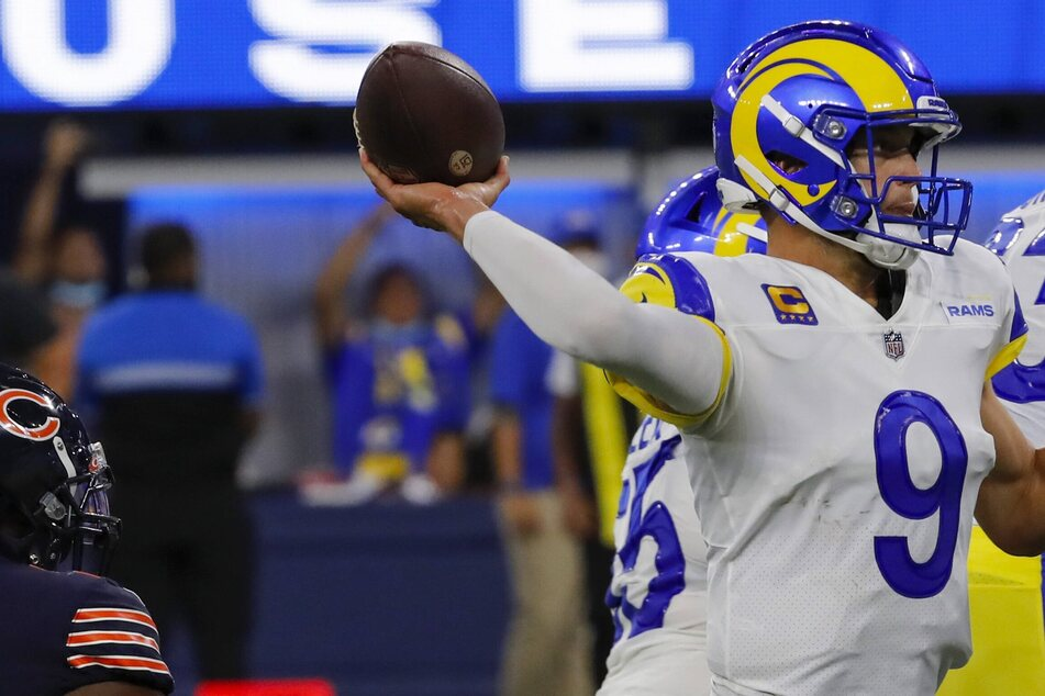 NFL: New QB Stafford leads the Rams to an easy home win over the Bears